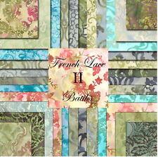 French Lace Ii Moda Batik Fat Quarter Bundle Moda Batik Fabric Fqs
