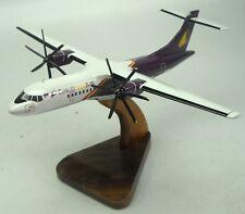 ATR-72-500 Cambodia Angkor Air Airplane Wood Model Big
