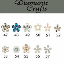 3D Diamantes Rhinestone Alloy DIY Phone Case Deco Choose your Design