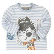 Bóboli Niño Camiseta de manga larga Pirata de rayas Talla 74 - 92