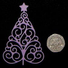 Arbre de Noël dentelle gaufrage moule / mat par fairie bénédictions