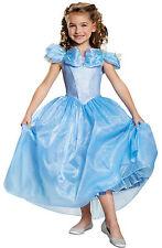 Niña Disney Cenicienta Película Hada Prestige Disfraz Alta Calidad Vestido