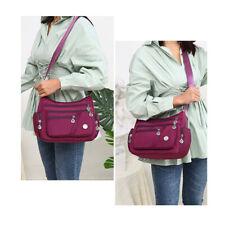 Summer Women Nylon Messenger Single Shoulder Crossbody Bag Waterproof Bags N7