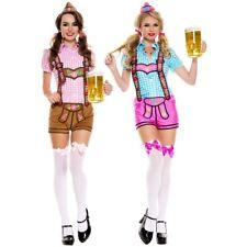 Lederhosen Beer Babe Costume Oktoberfest Fancy Dress