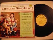 Golden Record CHRISTMAS SING-A-LONG LP
