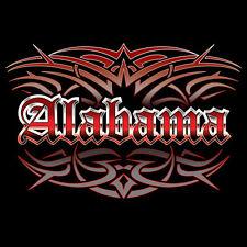 NEW Alabama Tattoo Style Hoodie Hooded Sweatshirt 4XL 5XL Blue Wave