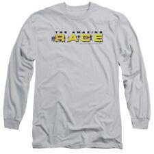 Amazing Race Running Logo Mens Long Sleeve Shirt