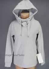 NEW LULULEMON Split Pullover Hoodie 4 6 8 10 Heathered Light Grey Seal Grey NWT