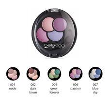 Ombretto Occhi Bella Oggi Poker Polvere Compatto Luminoso Makeup 4 Combinazioni