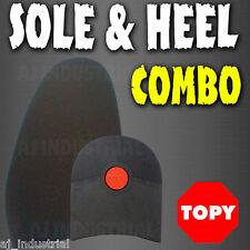 DIY SHOE REPAIR SOLE & HEEL COMBO KIT - LADIES / MENS BOOTS & SHOES