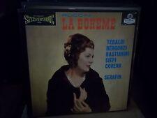 TULLIO SERAFIN  / PUCCINI  la boheme   - 2lp BOX SET - UK - BOOK - stereo -