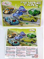 Überraschungsei Figuren Autos Future Cars Auswahl UeEi Zukunftsfahrzeuge