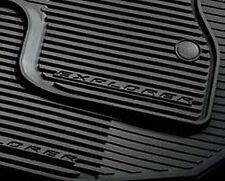 OEM 2011-2015 Ford Explorer ALL-WEATHER Mats, 4-PC SET, BLACK (DB5Z7813086BA)