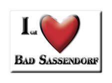 DEUTSCHLAND SOUVENIR - NORDRHEIN WESTFALEN MAGNET BAD SASSENDORF (SOEST)