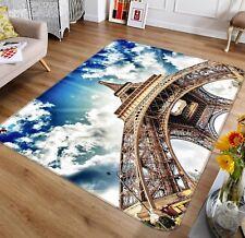 3D Eiffel Tower 3012 Non Slip Rug Mat Room Mat Quality Elegant Photo Carpet AU