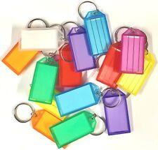 Key Click Tags/Key Ring/ID Name Card/Key Tags - 1, 5, 10, 20, 50, 100, 200-Mixed