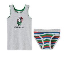 Schiesser Set Garnitur Unterhose / Slip + Unterhemd Jungen Baumwolle NEU