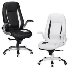 FineBuy chaise bureau BENY Tapisserie chaise cuir artificiel exécutif pivotante