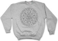 WHEEL of the Year Felpa Lovecraft Miskatonic Cthulhu Logo Felpe Pullover