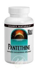 Source Naturals Pantethine Vit B-5 Coenzyme Precursor 300mg 90 tab