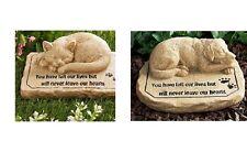 Pet Ceramic Garden Memorial Stone Sweet Memory of Beloved Friend Dog or Cat