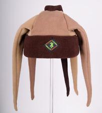 Brown Tentacle / Spike Fleece Ski & Outdoor Hat