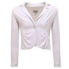 1693T giacca bimba ARMANI JUNIOR jersey bianco jacket kid