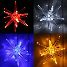 LED Weihnachtsstern Licht Weihnachts Deko Fenster LED Polar Stern Leuchte Acryl