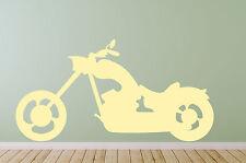 Clásico Easy Rider Motocicleta Estilo Low Rider Chopper Ventana pared calcomanía adhesivo