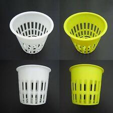 "10X Heavy Duty Mesh Pot Net Cup Basket Hydroponic Aeroponic Plant Grow Clone 4"""