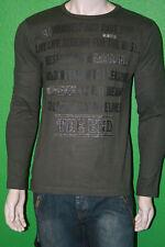RG512 Men's 100% Cotton Kahki Green Long Sleeve Originality Shirt W27274 Sz M