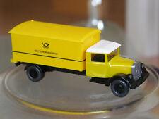 neuwertig: Wiking Werbemodell Mercedes L 2500 Bundespost