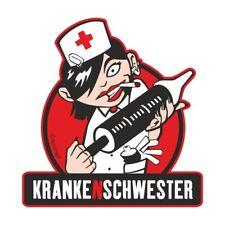 Aufkleber Wetterfest Krankenschwester 12 oder 35cm lustig beruf spruch geschenk