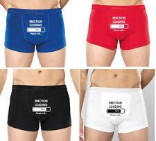 Érection de chargement Boxers Homme Boxer Shorts Sous-vêtements drôle rude Cadeau Lui sexe sexy