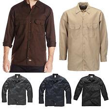 Dickies - Larga/S Camisa de trabajo Camisa de Trabajo Camisas