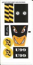 LEGO 7885 - Batman - Robin's Scuba Jet: Attack of The Penguin - STICKER SHEET