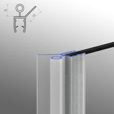 Wasserabweisprofil Ersatzdichtung Türdichtung Duschdichtung Dusche 6-8mm 30cm-2m