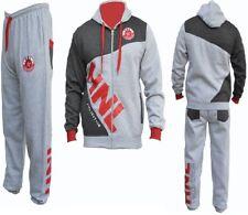 Kids HNL Boys/Girls 2 Pc Fleece Tracksuits,Hooded Jumper Jogging Suit Age7-14 y