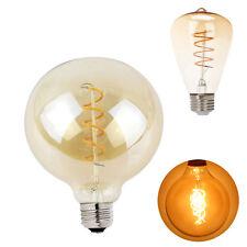 E27 ST64 G125 LED Vintage Edison Screw Bulbs Filament Light 5W 220V 2300K Lamps