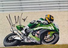 Roberto Rolfo Kawasaki WSBK Signed Photo 5x7 2011 1.