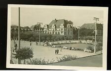 1937 Danzig RPPC postcard Cover Kurpark Zoppot