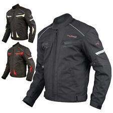 Giacca Moto Sport Tessuto Protezioni CE Impermeabile Ventilata Regolabile