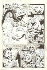 Soulsearchers #19 p.11 - Arnie, Janocz & Baraka - 1996 Dave Cockrum & Jim Mooney