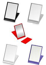2 Taschenspiegel mit Aufsteller / Reisespiegel / Schminkspiegel -NEU-