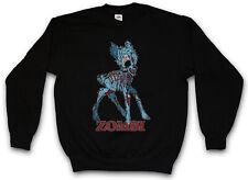 ZOMBI II SWEATSHIRT PULLOVER Deer Fun Vampire Zombie Halloween Splatter Bambi