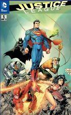 Justice League (2012) #5 (tedesco) JLA VARIANT COVER lim.444 ex. COMIC ACTION