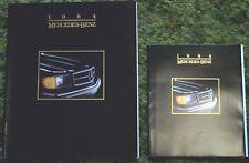 1984 Mercedes-Benz FL Reg & DLX Brochures 84