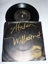 "ALYSON WILLIAMS - Sleep Talk - 1989 7"" single"