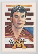 1994-95 Super America Minnesota Golden Gophers 35 Steve DeBus Rookie Hockey Card