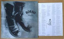 BOBBO - I'M NOT VALENTINO - SPITFIRE LBL - 1991 - LYRIC SHEET